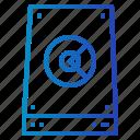 computer, disk, hard, hardware, technology icon