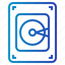 computer, disk, electronic, hard, hardware icon