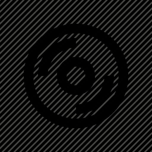 computer, disc, hardisk, optical icon