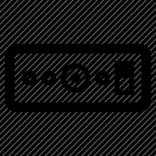 audio, hardware, interface, soundcard icon