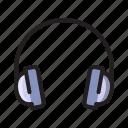 computer, device, earphone, hardware, headphone, music, technology icon