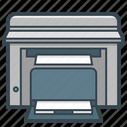 device, hardware, mfp, printer, scanner icon