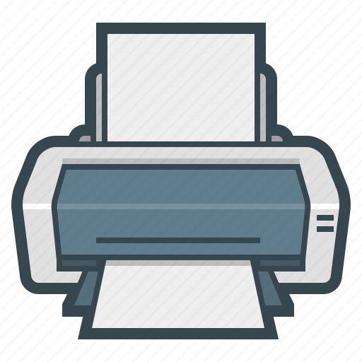device, hardware, print, printer icon