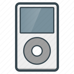 apple, devices, ipod, music, player icon