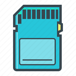 card, memory, memory card icon