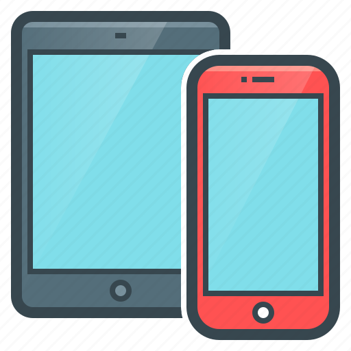 devices, mobile, phone, smartphones, tablet, telephone icon