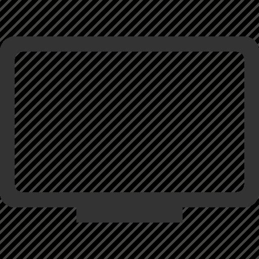 display, monitor, tv icon