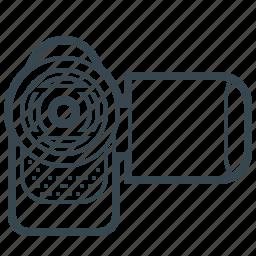 camcorder, camera, cinema, film, movie, video icon