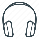 ear, earbuds, earphone, earphones, headphone, headset icon
