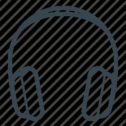 ear, earbuds, earphone, earphones, headphone, headset icon