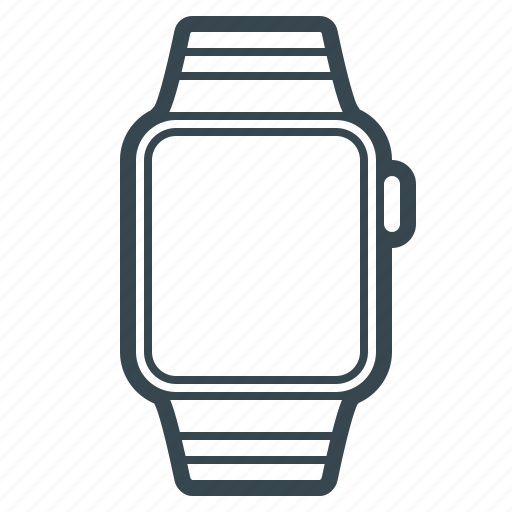 apple, clock, device, iwatch, smartwatch, technology, watch icon