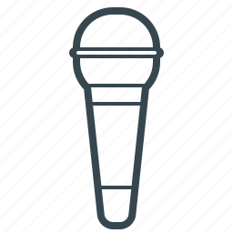 mic, microphone, speaker, voice, volume icon