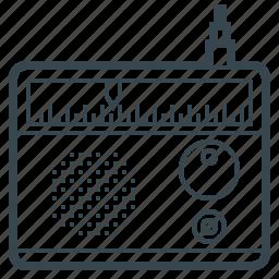 antenna, media, multimedia, music, radio, sound icon