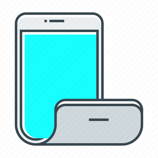 device, display, flexible, flexible display, gadget, iphone, mobile icon