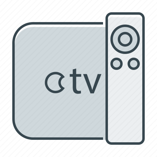apple tv, hardware, television, tv icon