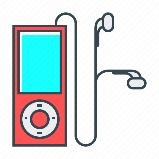 device, gadget, ipod, music, music player, player icon