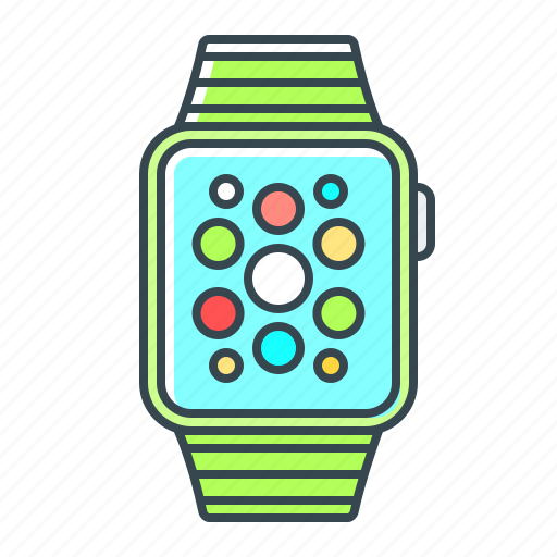 device, gadget, iwatch, watch icon
