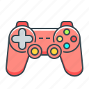 controller, device, gaming, hardware, joystick icon