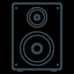 acoustics, audio, device, electronics, music, sound, volume icon