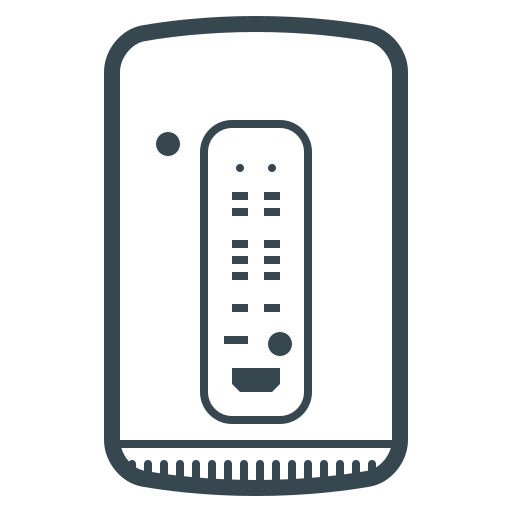 computer, device, mac, mac pro, pc, pro, technology icon