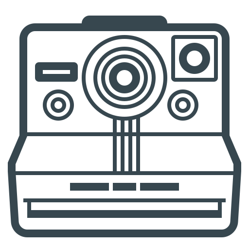 camera, device, image, photography, photos, polaroid icon