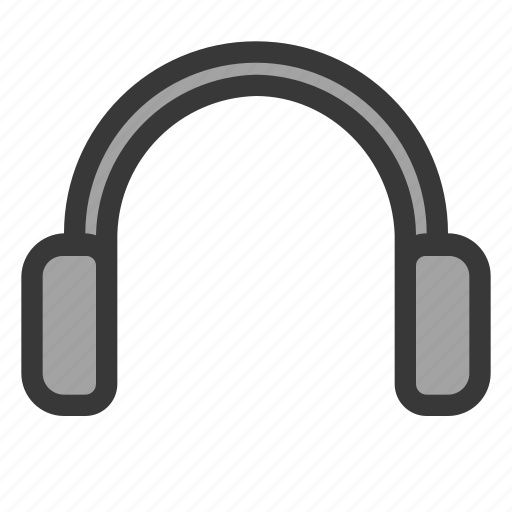 computer, electric, hardware, headphoner, music, service, support icon