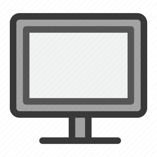 computer, electric, hardware, monitor, screen, television, tv icon