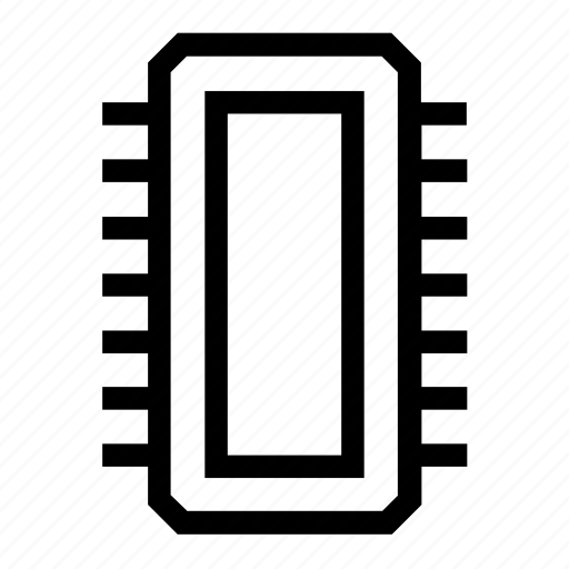 chip, device, drive, mem, memory, ram, ssd icon