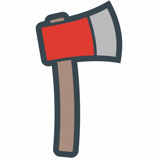 Axe, cut, tool, weapon, wood icon - Download on Iconfinder