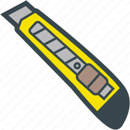 blade, box, cutter, knife, tool icon