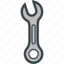 double, ratchet, ring, wrench icon