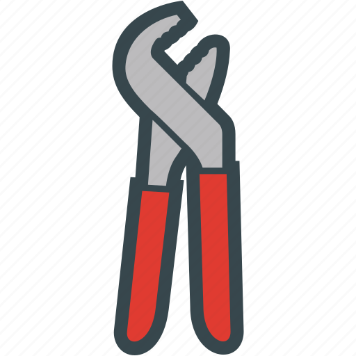 pliers, pump, tool, water icon