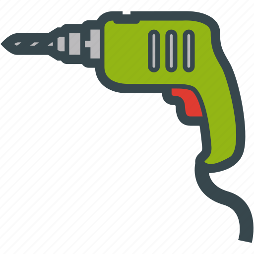Broach, drill, power, tool icon - Download on Iconfinder