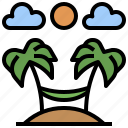beach, hobbies, holidays, nature, sun, umbrella, vacations icon