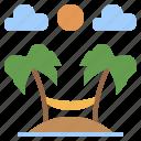 hobbies, holidays, summer, sun, time, umbrella, vacations icon