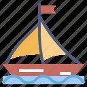 missouri, sailing, ship, transport, transportation, travel, vehicle icon