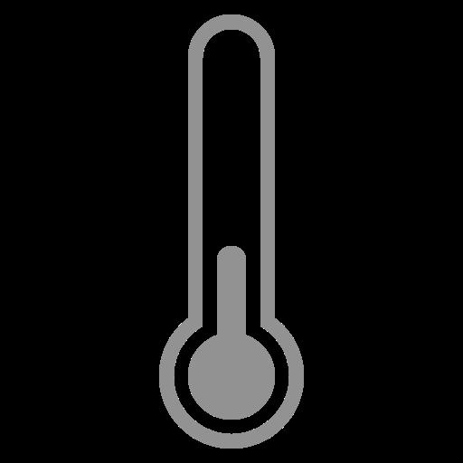 quarter, thermometer icon