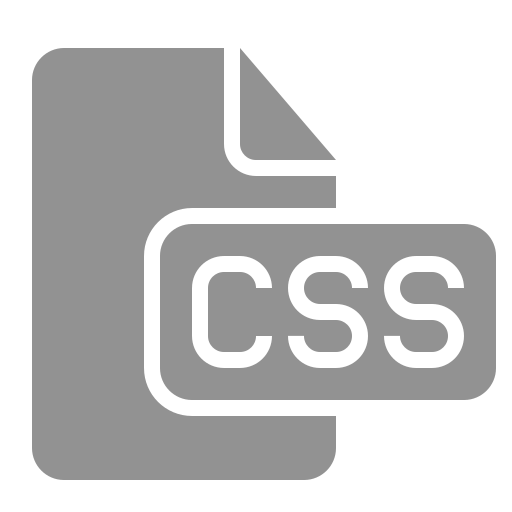 css, document, file icon