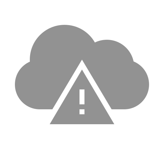 cloud, error icon