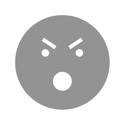 angry, eyebrows, face, mouth, open icon