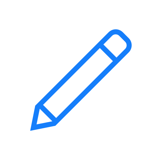 angled, pen icon