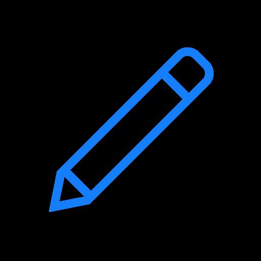 angled, pen icon