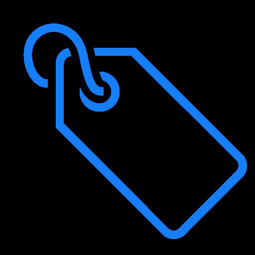 cord, tag icon