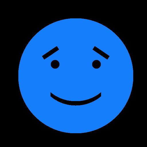 eyebrows, face, smiling icon
