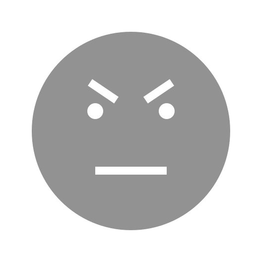 angry, face icon