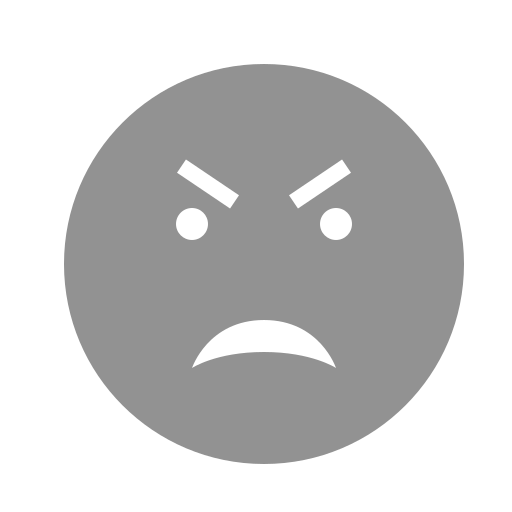 angry, eyebrows, face icon