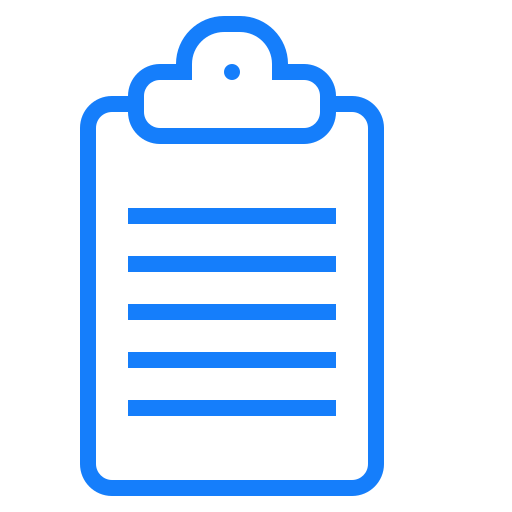 clipboard, text icon