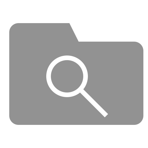 folder, search icon
