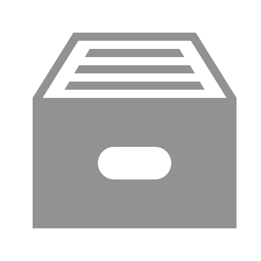 box, filled icon
