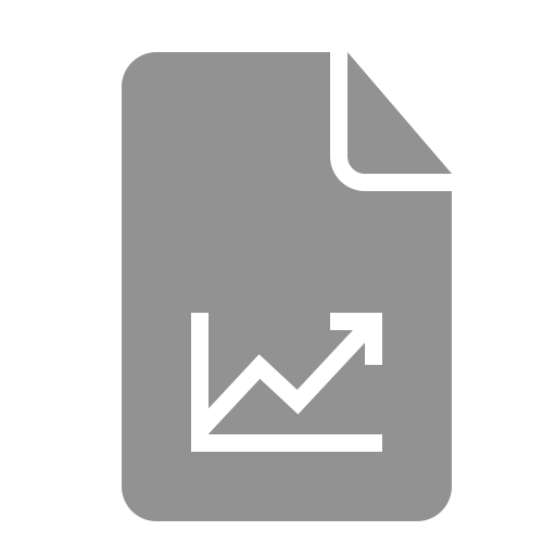 document, graph icon